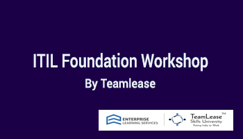 ITIL Foundation Workshop @ Delhi