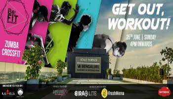 Be Fit Bengaluru with Bira Yoga, Zumba and Crossfit