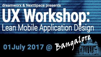 Lean Mobile Application Design - 1 day Workshop