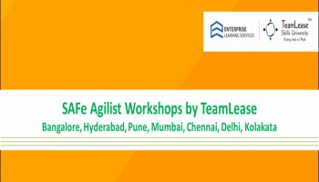 Leading SAFe Agilist Workshop @ Delhi