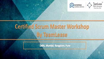 Certified Scrum Master (CSM) @ Chennai