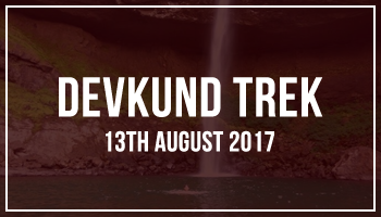 Devkund Trek by EDAS