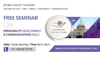 Free Seminar on Personality Development and Communication Skills
