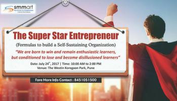 The Super Star Entrepreneur - Westin Hotel, Pune