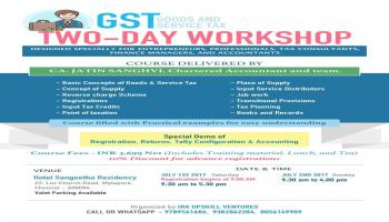 GST - Workshop - July 1 and 2