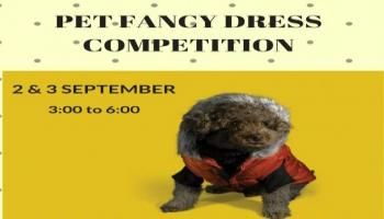 PET FANCY DRESS COMPETITION