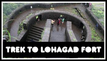 Trek to Lohagad Fort on 29th July 2017