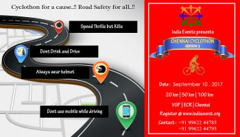 Cyclothon For a Cause Road Safety for All