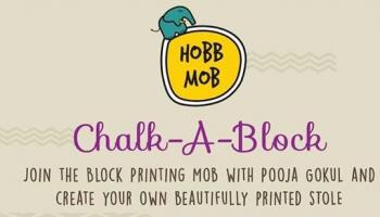 Chalk-A-Block Blockprinting Workshop