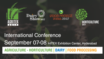 Agritex 2017 India - International Agricultural, Dairy and Food Processing Trade Fair