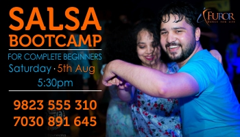 SALSA Bootcamp for COMPLETE BEGINNERS_5th Aug 2017