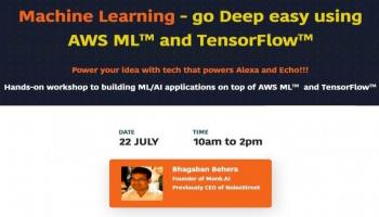 Machine Learning - go Deep easy using AWS ML and TensorFlow