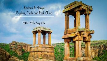Badami and Hampi: Explore, Cycle and Rock Climb