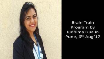 1-day Brain Train Program based on NLP by Ridhima Dua