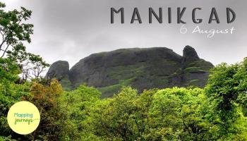 Manikgad Trek Near Khopoli (One Day)