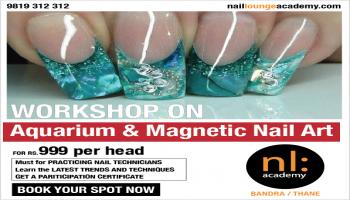 Seminar on Aquarium and Magnetic Nail Art