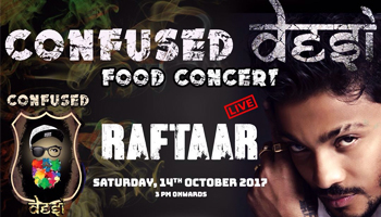 Confused Desi Food Concert 2017