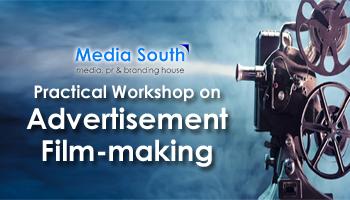 advertisement film-making workshop on Creativity Unlimited