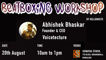 Beatboxing Workshop