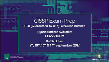 CISSP Certification Training Hybrid Batch IN Delhi/NCR