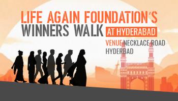 Life Again Foundation Winners walk 2017