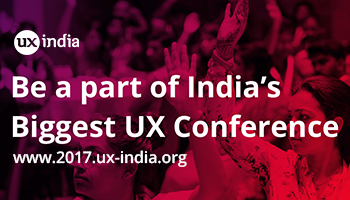 UXINDIA 2017 : : International Conference on User Experience Design