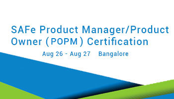 SAFe Product Manager/Product Owner (POPM) Certification - 26 - 27 AUG