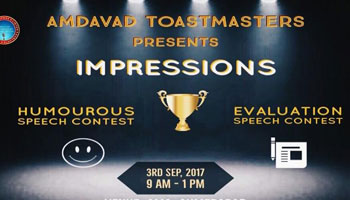 IMPRESSIONS - HUMOROUS SPEECH AND EVALUATION SPEECH CONTEST