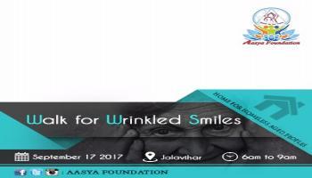 Walk for Wrinkled smiles