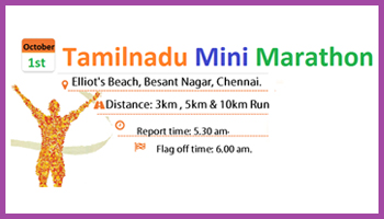 Tamilnadu Mini Marathon - Run For CLEAN and GREEN Tamilnadu