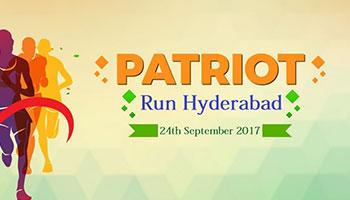 PATRIOT RUN HYDERABAD 2017