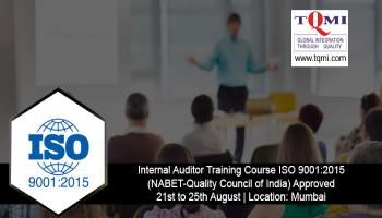 Lead Auditor Training Course ISO 9001:2015 - NABET-Quality Council of India