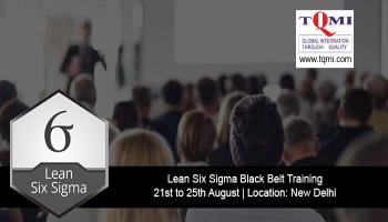 Lean Six Sigma Black Belt Training at New Delhi