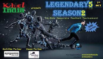 LEGENDARY5 - SEASON 2 - INTER  CORPORATE FOOTBALL TOURNAMENT