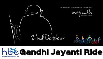 Gandhi Jayanti Ride 2017