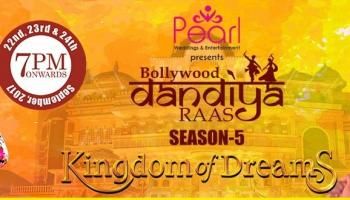 Bollywood dandiya raas season 5 Sep 23rd