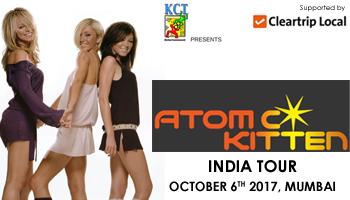 Atomic Kittens Kerry Katona x Liberty Xs Michelle Heaton x Zoe Birkett India tour 2017 Mumbai