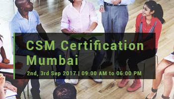 CSM Certification, Mumbai (Octber 2017)