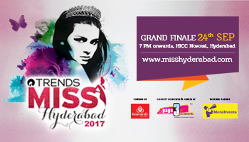 Trends Miss Hyderabad 2017 - Grand Finale 24th Sept 2017