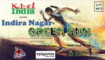 INDIRA NAGAR - GREEN RUN - 15th October