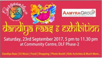 Dandiya Raas and Exhibition 2017 by Gurgaonites Events