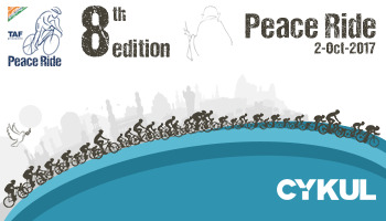 The Peace Ride 2017 - 8th Edition