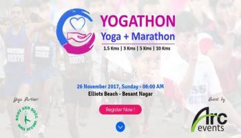 Yogathan (Yoga + Marathon)