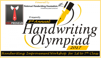 Handwriting Improvement Workshop and Olympiad