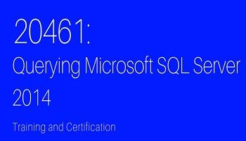 20461 QUERYING MICROSOFT SQL SERVER 2014 TRAINING