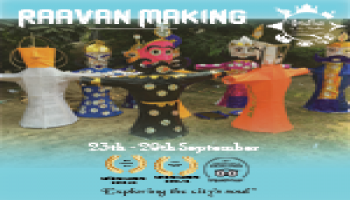 Dusshera - Raavan Making