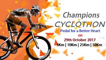 Champions Cyclothon 2017