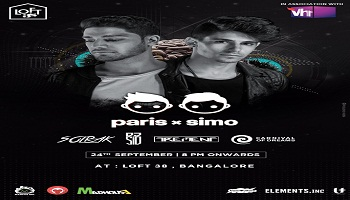 Paris X Simo Live Concert in Bangalore in association with Vh1