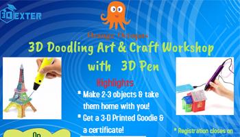 3D Doodling Art  and Craft Workshop