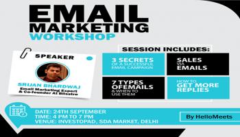 Email Marketing Workshop- Delhi